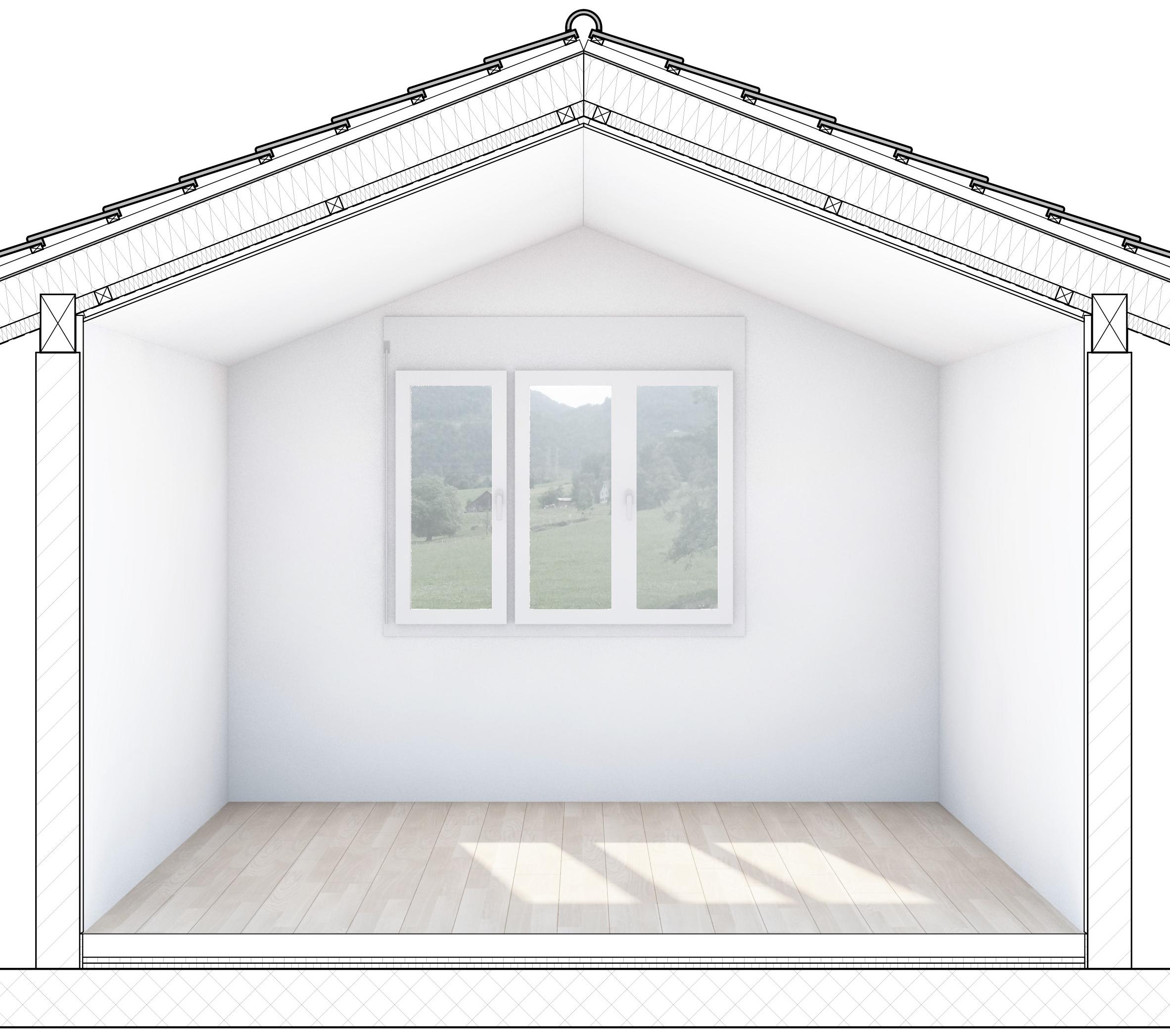 Bauleitung Zimmerausbau in Goldau Bild 1